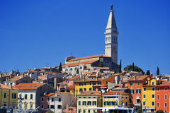 Old town architecture of Rovinj Stock Photography