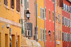 Old town architecture of Rovinj Royalty Free Stock Photo