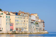 Old town architecture of Rovinj, Croatia. Istria touristic attra Royalty Free Stock Photo