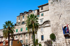 Old Town architecture in Split, Royalty Free Stock Photography