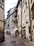 Old town area in Colmar, Alsace, France Royalty Free Stock Image