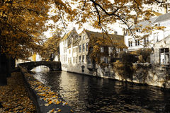 Old town in autumn royalty free stock photos