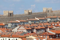 Old town of Avila, Castilla y Leon, Spain Royalty Free Stock Images