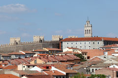 Old town of Avila, Castilla y Leon, Spain Stock Image