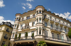 Old town of Baden-Baden. The old town of Baden-Baden facade building Royalty Free Stock Photos