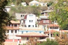 Old town of Bakhchysaray. Crimea. stock photos