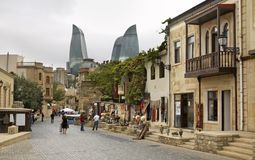 Old town in Baku. Azerbaijan Stock Photos