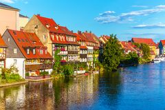 Old Town in Bamberg, Germany Stock Photos