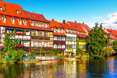 Old Town in Bamberg, Germany Royalty Free Stock Images