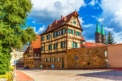 Old Town in Bamberg, Germany Stock Image