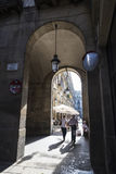 Old Town, Barcelona. Royalty Free Stock Photography