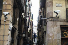 Old Town, Barcelona. Royalty Free Stock Photo