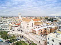 Old town of Bari, Puglia, Italy stock photography