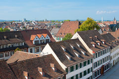 Old town of Basel Royalty Free Stock Photo