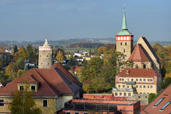 Old town of Bautzen, Germany Stock Photography