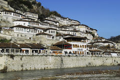 Old town of berat Royalty Free Stock Image