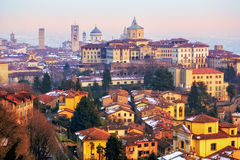 Old town of Bergamo, Lombardy, Italy Royalty Free Stock Image