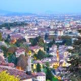 Old Town of Bergamo Stock Image