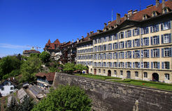 Old town of Bern, the Swiss capital and Unesco World Heritage ci Royalty Free Stock Image