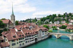 Old town of Bern, Switzerland royalty free stock photo