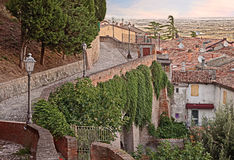 Old town of Bertinoro, Emilia Romagna, Italy Stock Photos