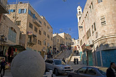 Old town, Betlehem, Palestine Royalty Free Stock Photos