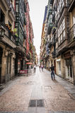Old town Bilbao, Spain Royalty Free Stock Image