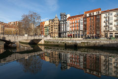Old town of Bilbao Royalty Free Stock Photography