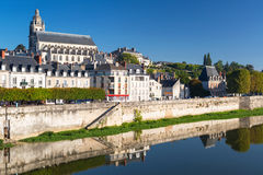 Old town of Blois, France Stock Image