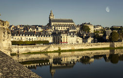 Old town of Blois in the Loire Valley, France. Royalty Free Stock Photography