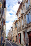 Old town in bordeaux city Royalty Free Stock Image