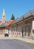 Old town, Bratislava. Historic buildings in the old town of Bratislava, Slovakia royalty free stock photography
