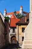 Old Town Of Bratislava Historic Architecture Stock Photo
