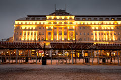 Old town in Bratislava. Royalty Free Stock Photos