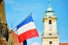 Old town of Bratislava, Slovakia Royalty Free Stock Photos