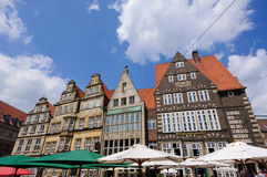 Old town of Bremen, Germany Stock Images