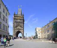 Old Town Bridge Tower. Charles Bridge Stock Image