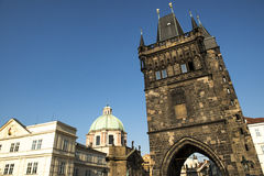 Old Town Bridge Tower of the Charles Bridge Stock Images