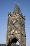 Old Town Bridge Tower; Prague Stock Photo