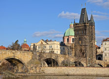 Old Town Bridge Tower in Prague Royalty Free Stock Photography