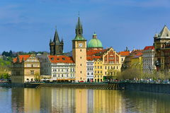 Old Town Brigde Tower, Charles Bridge, Old Buildings, Prague, Czech Republic Royalty Free Stock Images