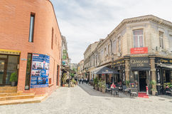 Old Town Bucharest Royalty Free Stock Photo