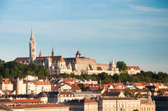 The Old Town of Buda, in Budapest, Hungary. Royalty Free Stock Photography