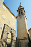 The old town of Budva Stock Photos