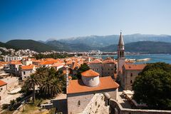 Old town Budva Royalty Free Stock Images