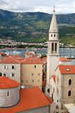 The Old Town of Budva, Montenegro Royalty Free Stock Image