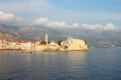 Old Town Budva in Montenegro Stock Photo