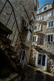 Old Town Budva in Montenegro. Ancient Fortress the in Venetian S Stock Photos