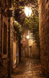 Old Town  Budva Montenegro - architecture travel background Royalty Free Stock Image