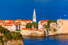 Old Town in Budva Montenegro Royalty Free Stock Photos